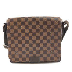 District Pm Flap Shoulder Strap Messenger Bag